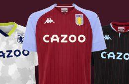 Maglie Aston Villa 2020-2021 Kappa