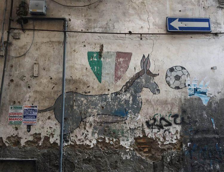 Murales ciuccio Napoli