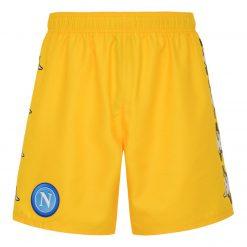 Pantaloncini gialli Napoli Marcelo Burlon