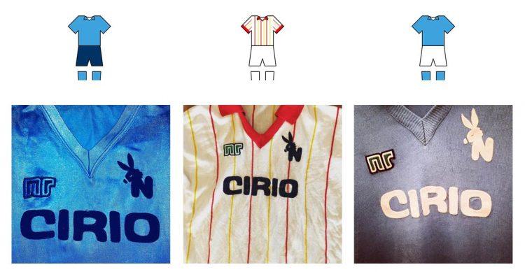 Le maglie del Napoli 1982-1983