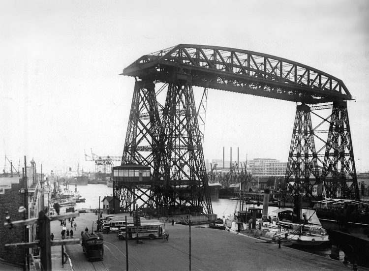ponte trasportatore Nicolás Avellaneda