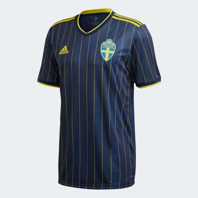 Seconda maglia Svezia blu 2021