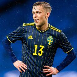 La maglia da trasferta della Svezia per Euro 2020