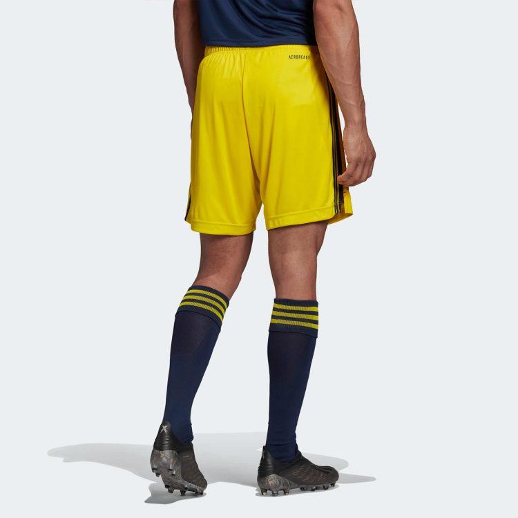 Pantaloncini Svezia gialli 2020-21 retro
