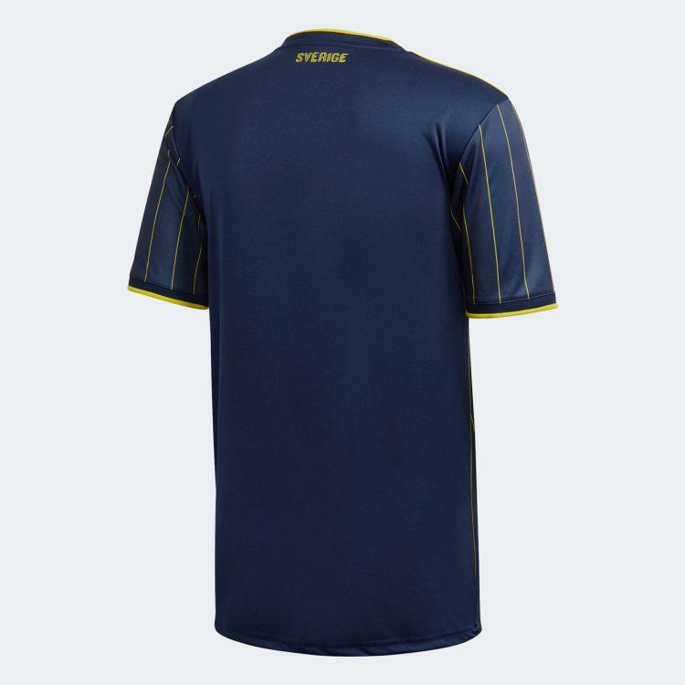 Seconda maglia Svezia blu 2021 retro