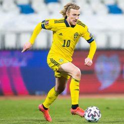 Divisa Svezia 2020-2021 gialla