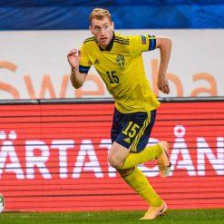 Kukusevski con la maglia della Svezia