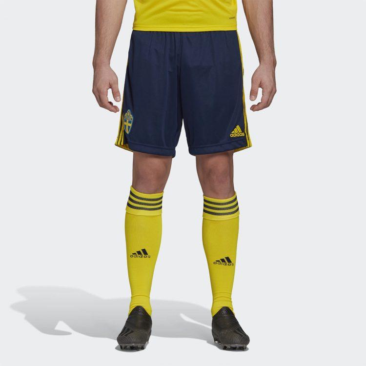 Pantaloncini Svezia blu 2020-2021