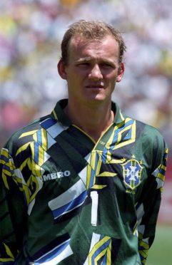 Taffarel Brasile Maglia 1994