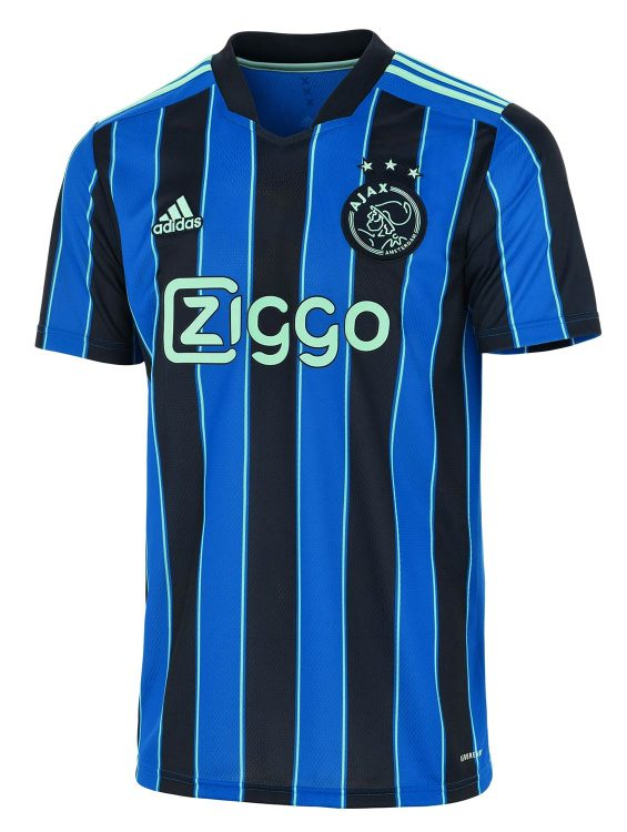 Seconda maglia Ajax 2021-2022 blu Adidas