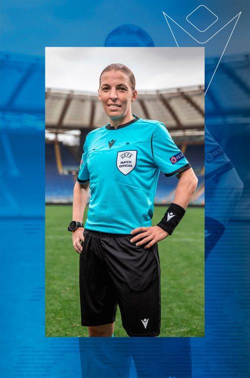 Divisa arbitro Euro 2020 Macron azzurra