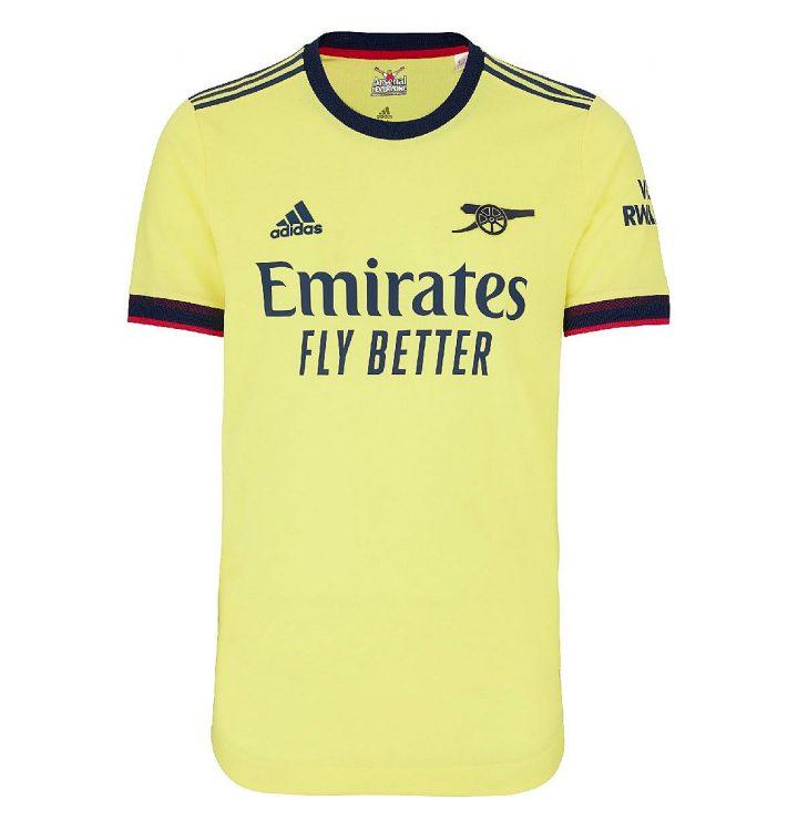 Seconda maglia Arsenal 2021-2022