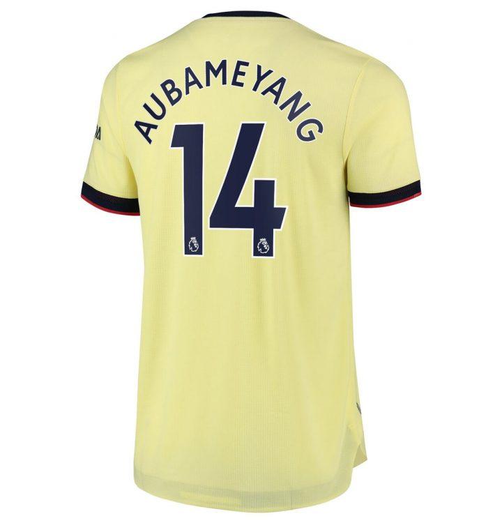 Arsenal maglia away Aubameyang 14