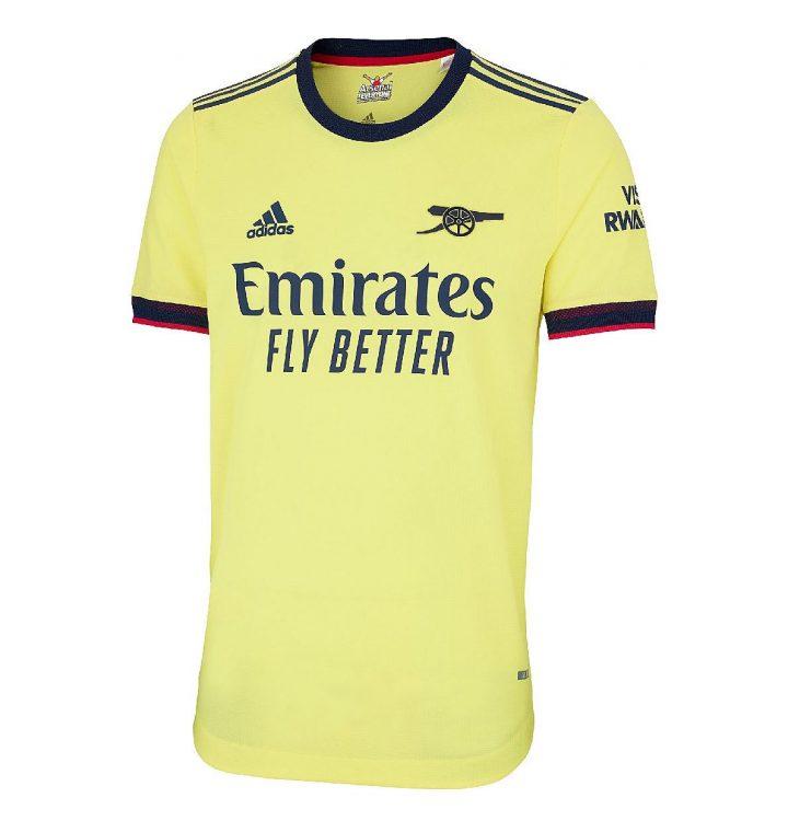 Kit Arsenal away 2021-2022