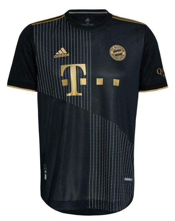 Maglia Bayern Monaco 2021-2022 trasferta nera