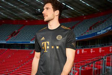 La nuova maglia del Bayern Monaco away 2021-22