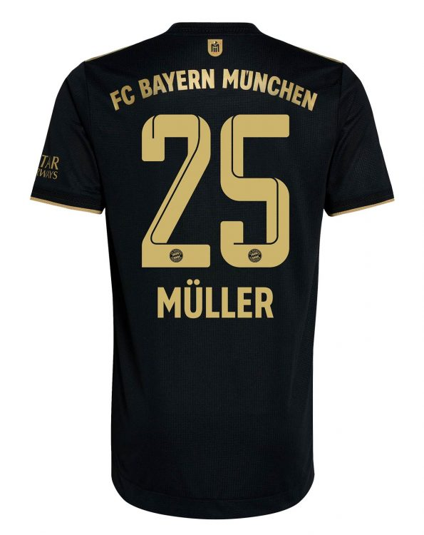 Maglia Bayern Monaco 2021-2022 away Muller