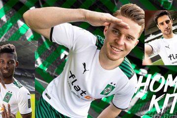 La nuova maglia del Borussia Monchengladbach 2021-22
