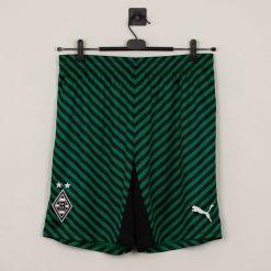 Pantaloncini verdi Borussia Monchengladbach a righe