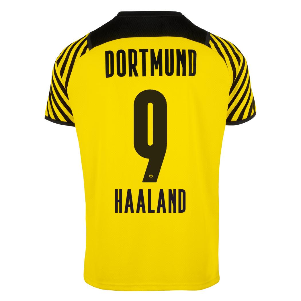 Maglia Borussia Dortmund 2021-2022, novità le righine giallonere!
