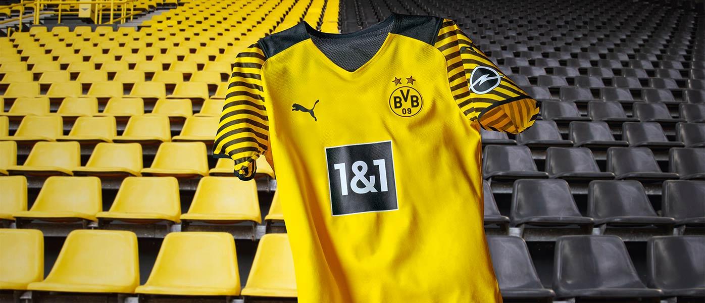 La nuova maglia del Borussia Dortmund 2021-2022 Puma