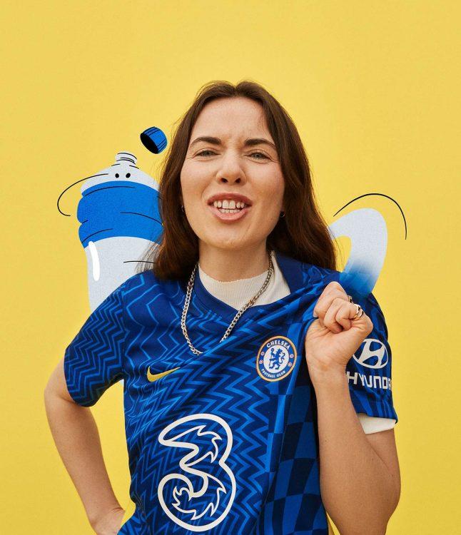Chelsea maglia femminile 2021-22