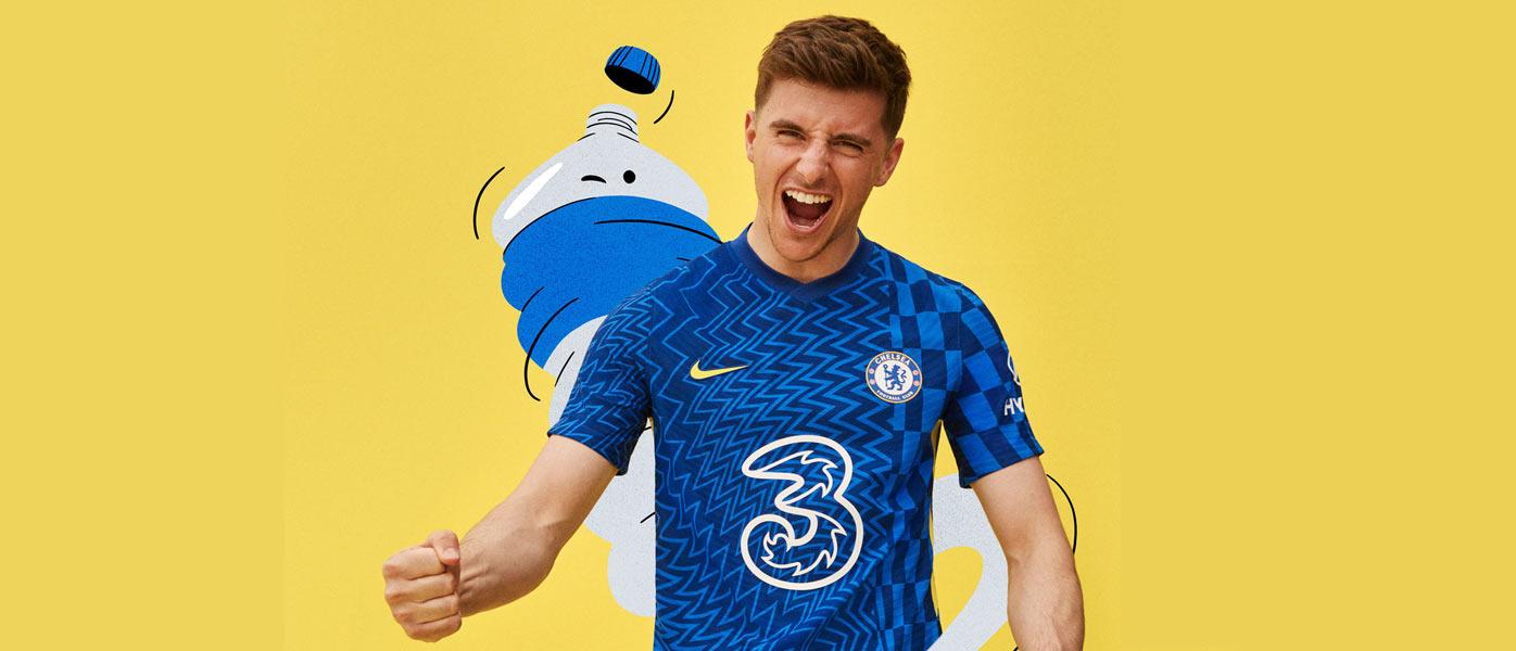 Maglia Chelsea 2021-2022, Nike porta la Op Art nel calcio!