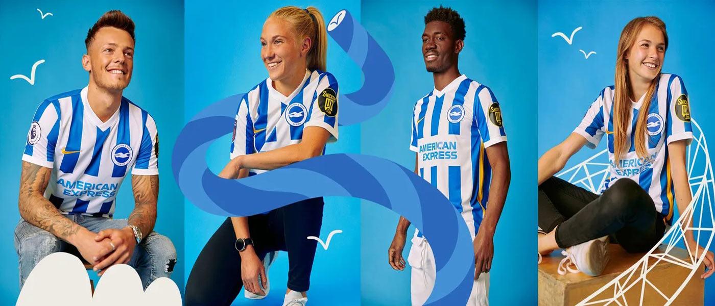La nuova maglia del Brighton 2021-2022