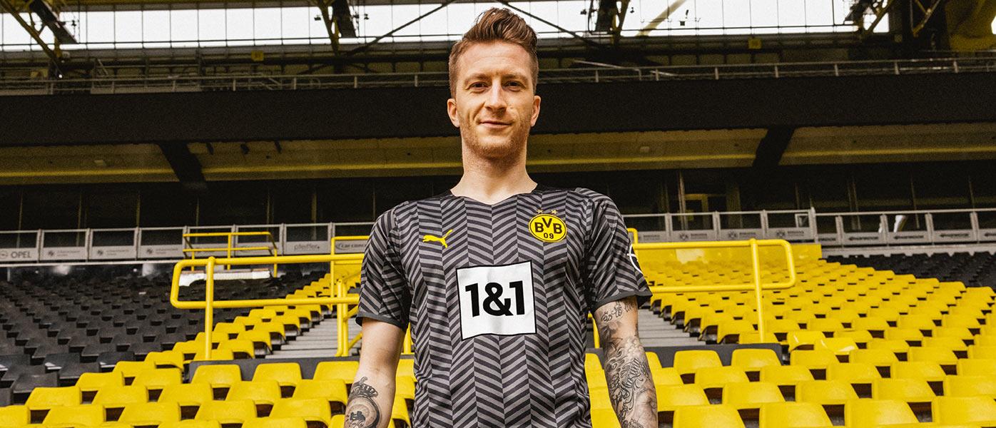 Nuova maglia away Borussia Dortmund 2021-2022