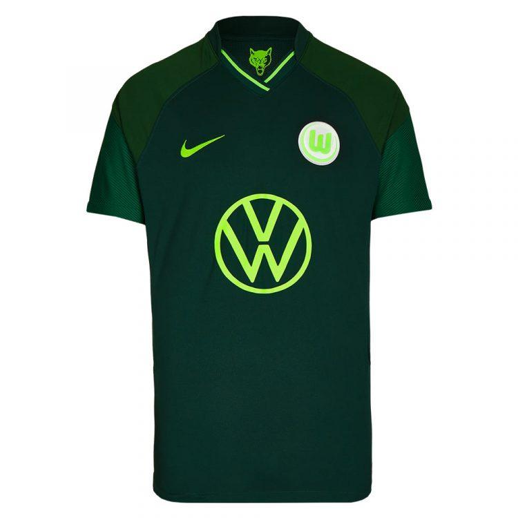 Seconda maglia Wolfsburg verde scuro