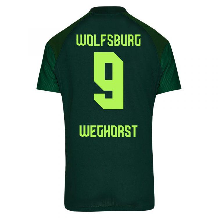 Seconda maglia Wolfsburg verde scuro 2021-2022