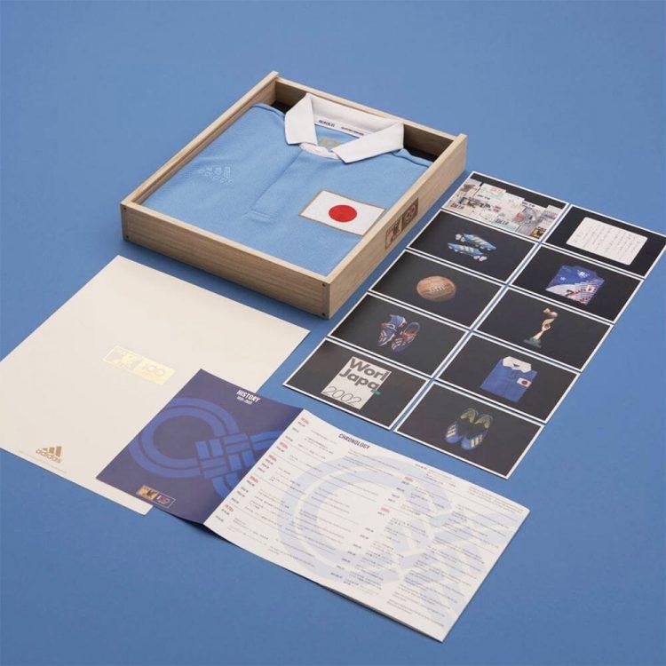 Packaging maglia centenario Giappone