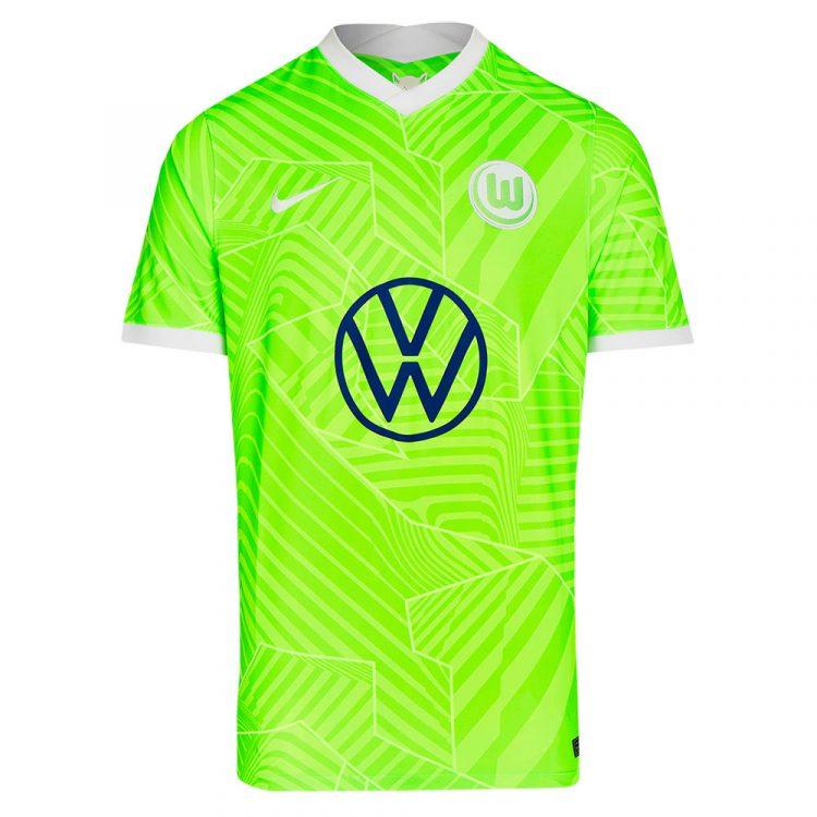 Maglia Wolfsburg 2021-2022 verde
