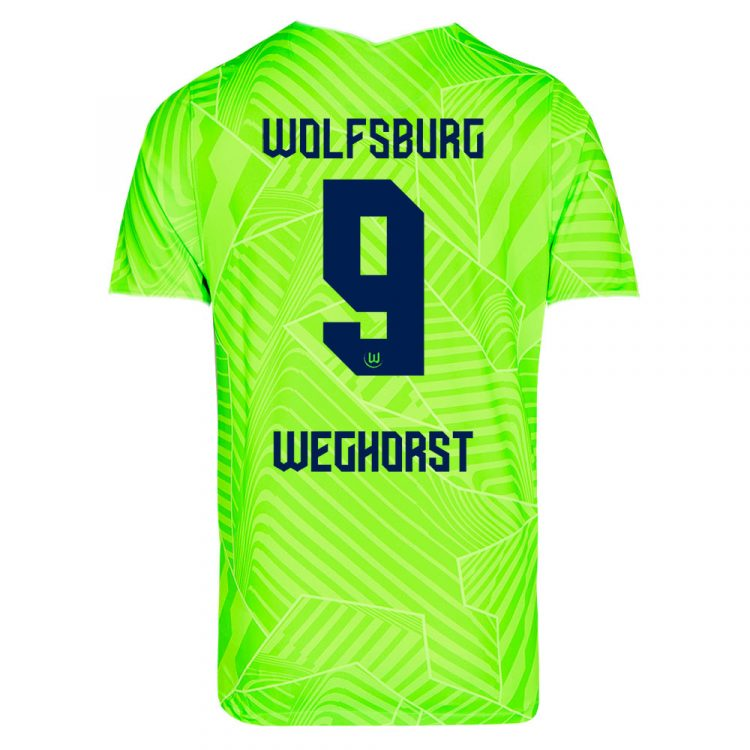 Maglia Wolfsburg 2021-2022 Weghorst 9