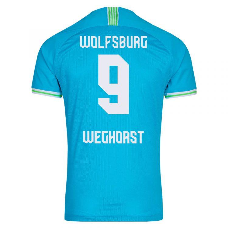 Terza maglia Wolfsburg 2021-22 retro