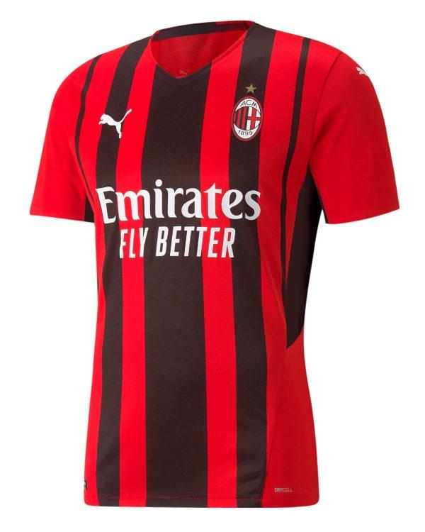 Maglia Milan 2021-2022 rossonera