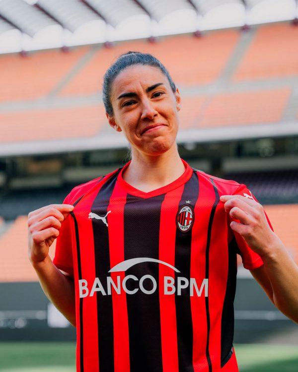 Laura Fusetti maglia Milan 2021-22