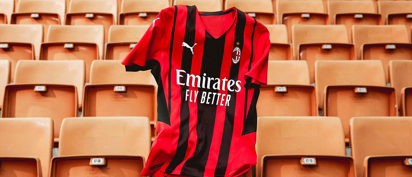 La nuova maglia del Milan 2021-2022