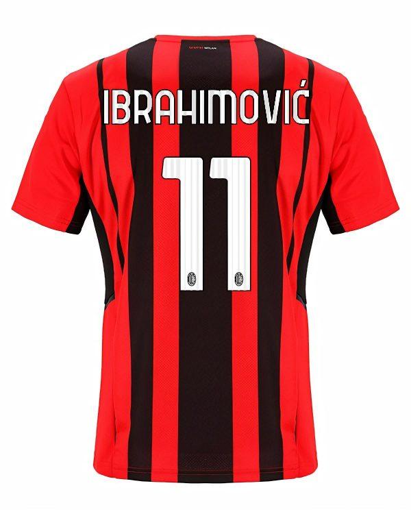 Maglia Milan 2021-2022 Ibrahimovic 11