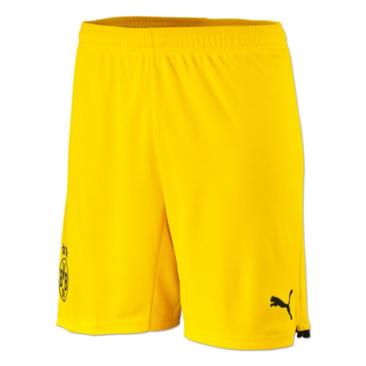 Calzoncini Borussia Dortmund gialli 2021-22
