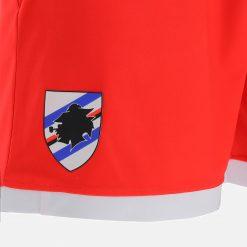 Pantaloncini rossi Sampdoria 2021-22 stemma