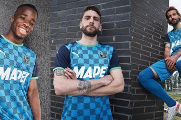 La nuova terza maglia del sassuolo 2021-2022