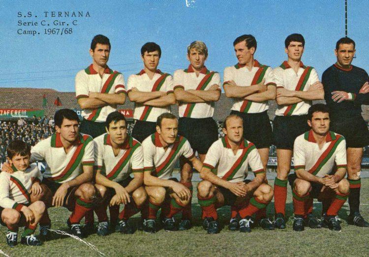 Ternana formazione 1967-1968