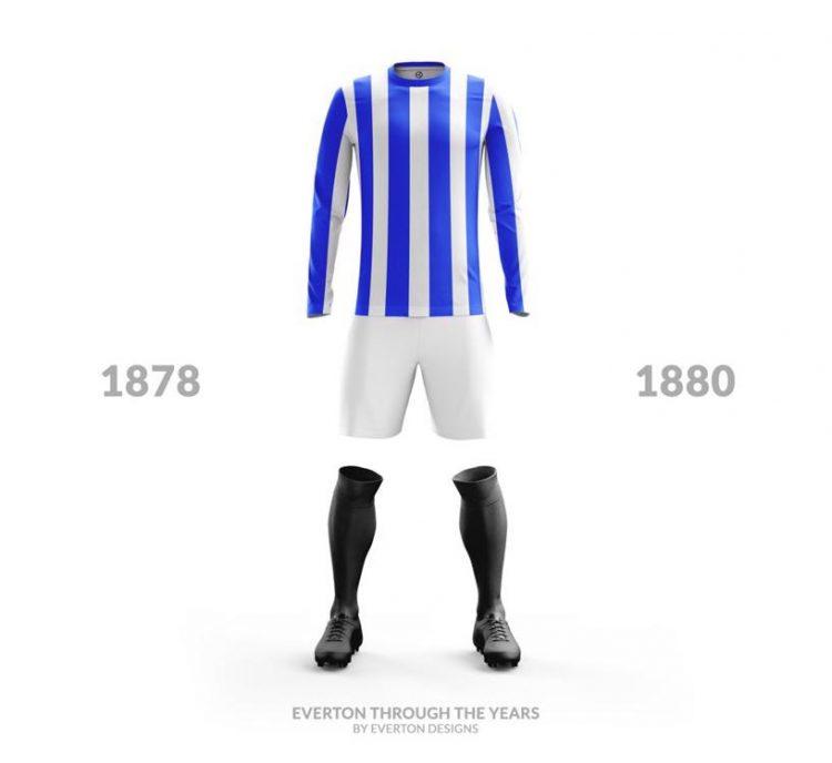Everton Kit 1878-1880