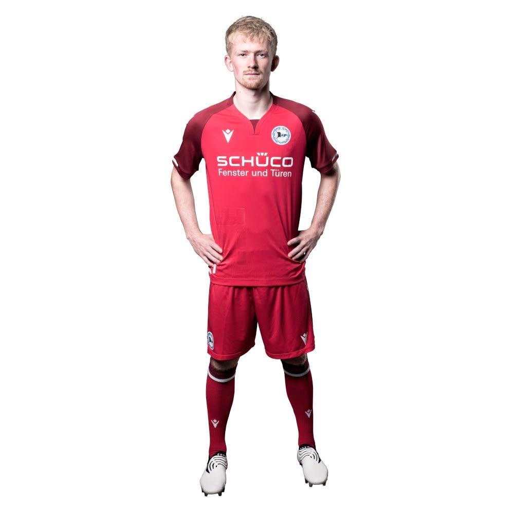 Arminia Bielefeld terza divisa rossa