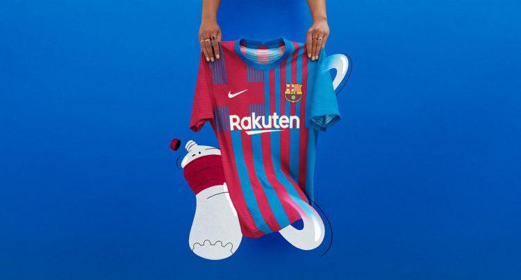 Barcellona nuova maglia 2021-2022 Nike