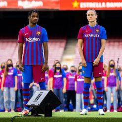 La divisa del Barcellona 2021-22 al Camp Nou