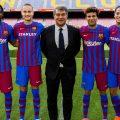 Presentazione nuova maglia Barcellona 2021-2022