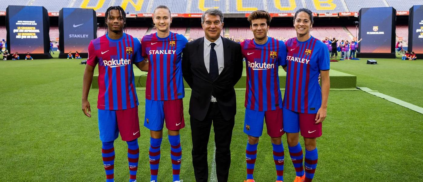 Maglia Barcellona 2021-2022, Nike omaggia lo stemma blaugrana!