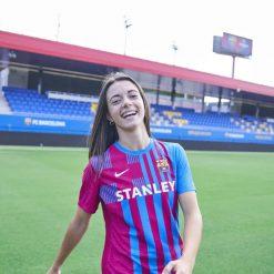 Barcellona femminile nuova maglia 2021-2022